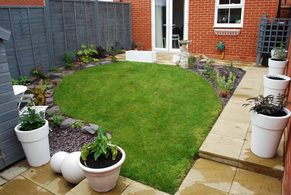 New Build Gardens Design And Landscaping