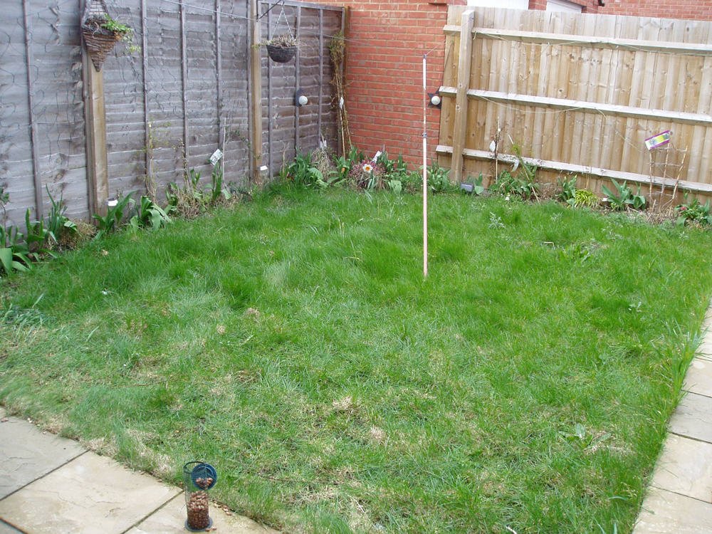 New build gardens – design and landscaping – clophillgardening.co.uk