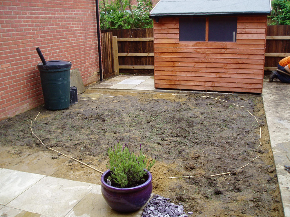 New build gardens - design and landscaping ...